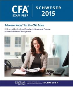 SCHWESER CFA LEVEL 3 2015 Curriculam, Study Notes, Qbank