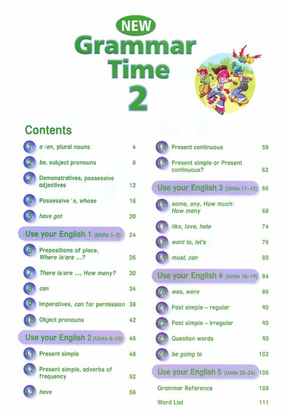 Time new решебник по 4 grammar